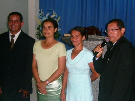 Membros da secretaria de missões de Malhador